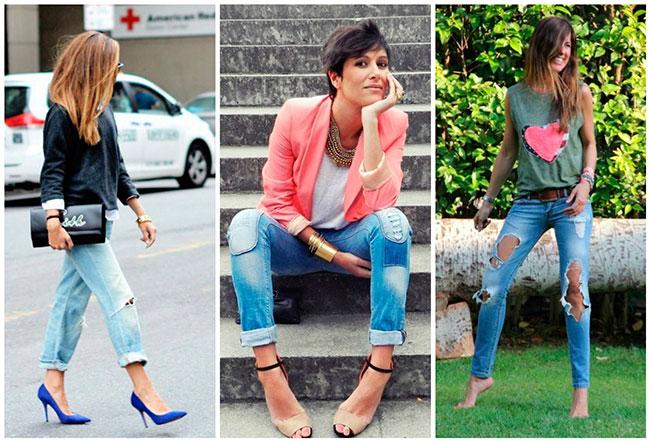 рваные джинсы фото