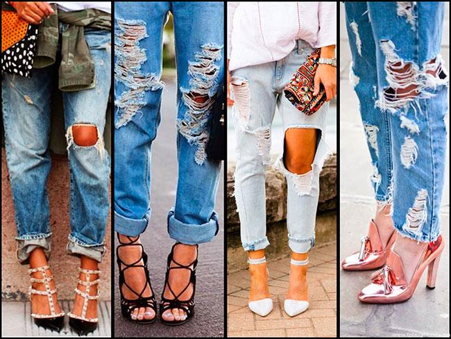 Рваные джинсы своими руками мастер класс фото