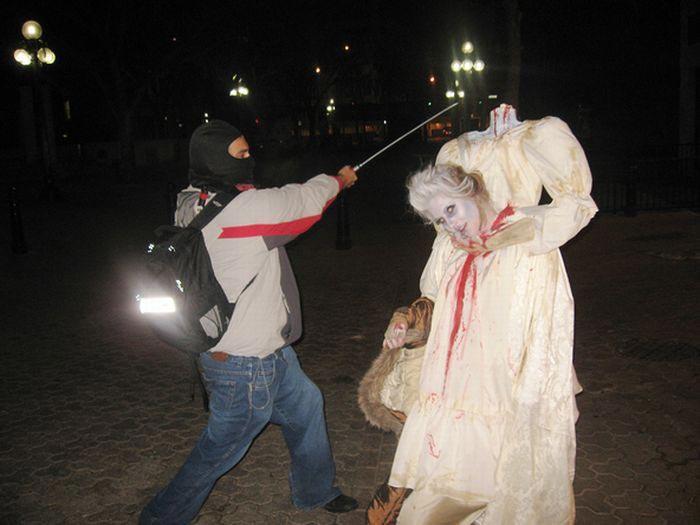 Костюмы к хеллоуину своими руками видео - Gallery-Oskol.ru