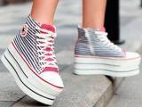 Как и с чем носить обувь на платформе