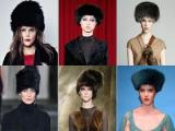 Женские головные уборы на зиму