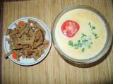 Гарбузовий суп з сухариками