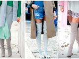С чем носить ботфорты:  модные правила, небанальные луки и лучшие образы с ботфортами